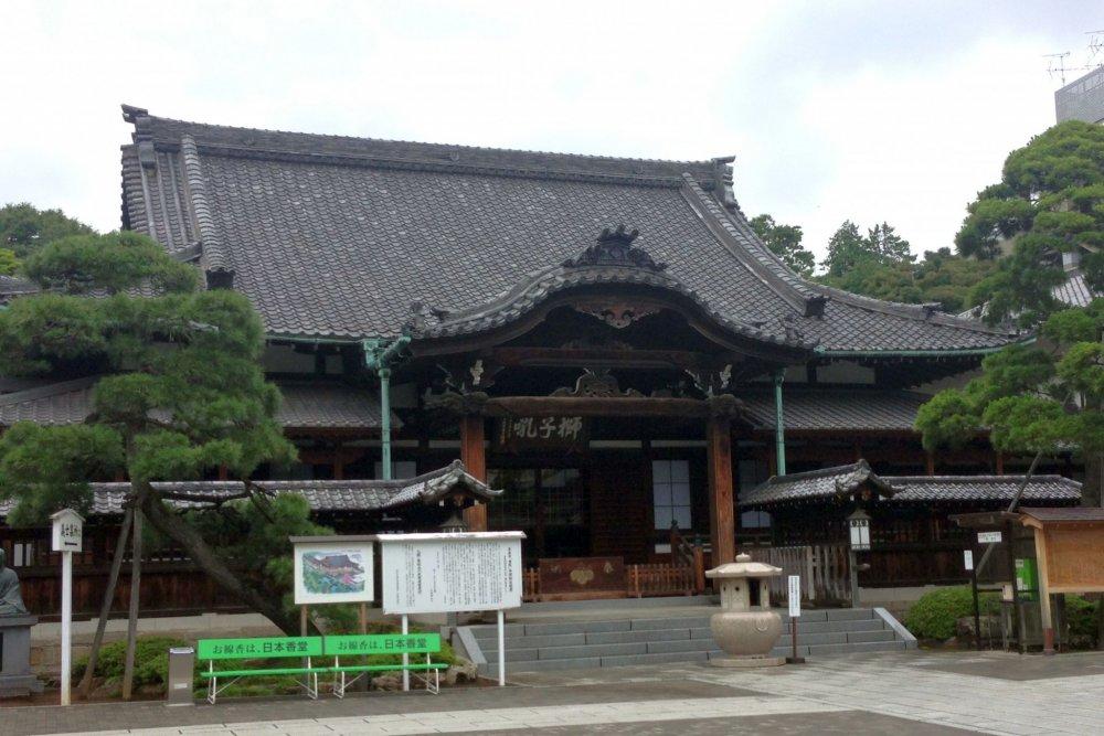 Хондо (главное здание храма)
