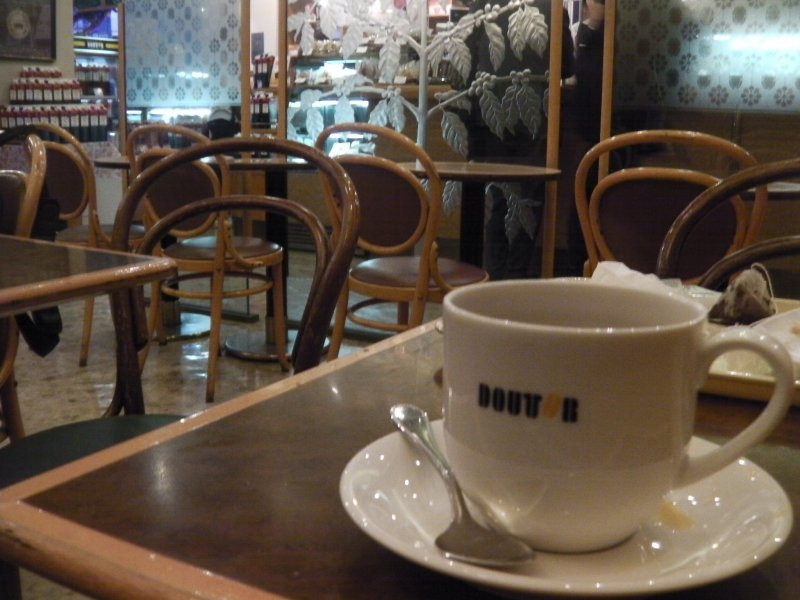 <p>Grab a cup of joe at your local Doutor</p>