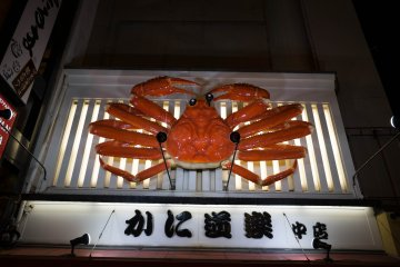 <p>Watch out for the moving giant crab.</p>