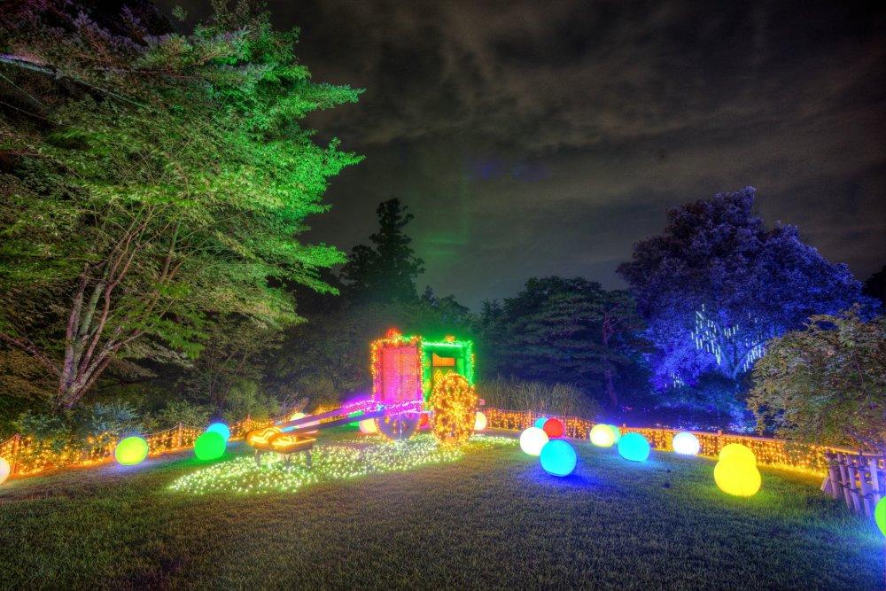 Illuminara: Manyo Botanical Garden - Nara - Japan Travel - Tourism Guide, Jap...