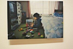 森美术馆内小西淳也的摄影作品:time of child