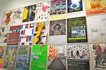 <p>近期展览的海报</p>