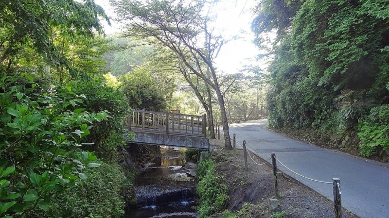 <p>ถนนบางสายมีคลองเล็กๆ ไหลขนานไปกับถนน บ้านแต่ละหลังจะมีสะพานทอดข้ามคลองเป็นของตนเอง</p>