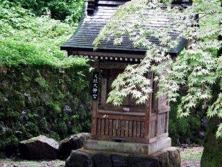 Pretty shrine called, 'Tensho Daijingu', which was built in 1748