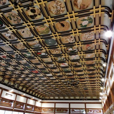 Zazen Hall and Paintings of Eiheiji