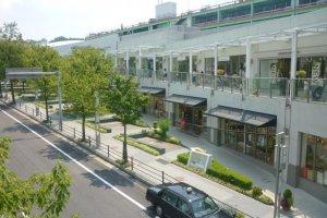 Hoshigaoka Terrace West shopping complex