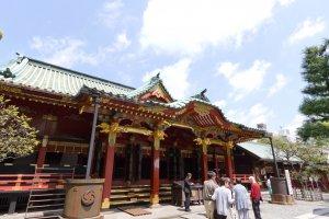 Main shrine building