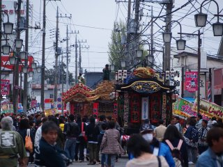 Yatai Festival in April: Fun, music and seriously competitive teams fighting it out in the streets of Otawara