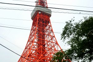 Tokyo Tower withZojoji Temple