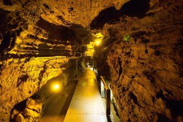 Ryugashido Cavern in Hamamatsu