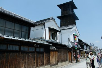 <p>The Bell Tower is the symbol of Kawagoe</p>