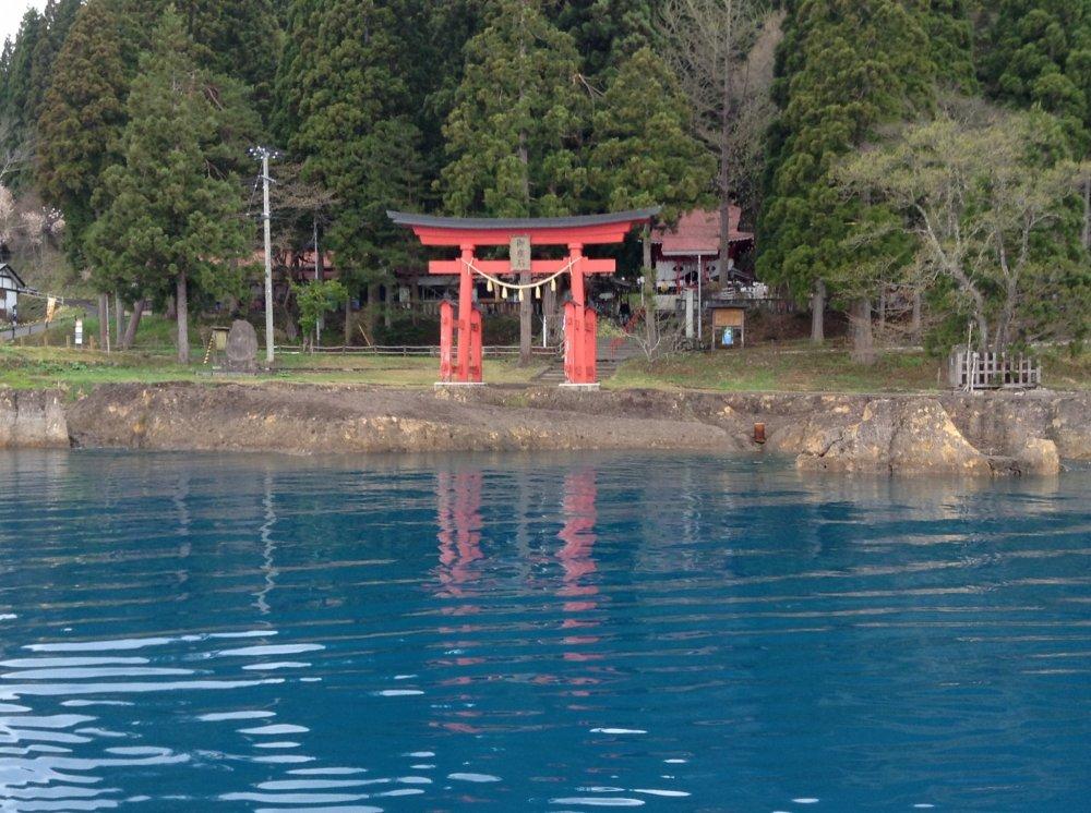 Sanctuaire Gozano-ishi