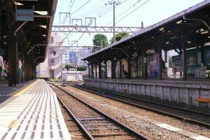 江之岛站台看出去的风景