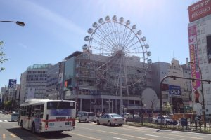 Fun in the Sunshine Sakae complex!