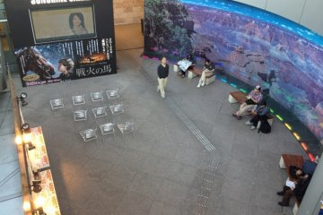 Grand Canyon underground performance area