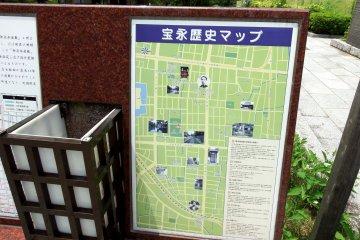 해당 지역의 역사지도