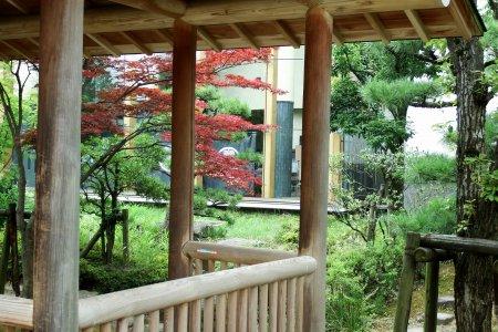 Parque Osensui na Rua Samurai