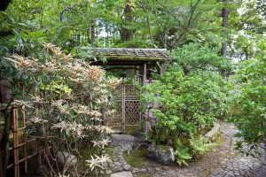 ภายในสวน Yoshikien
