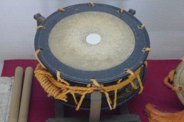 <p>Large Noh Drum</p>