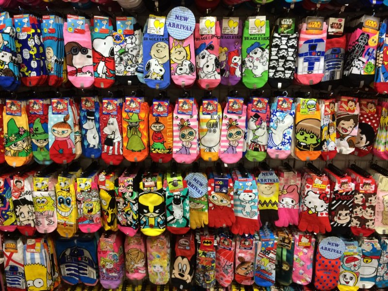 a3313cf55725 Novelty and character socks are so popular you can find them everywhere.  Snoopy