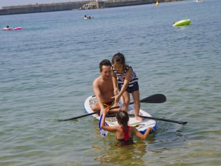 Rent stand up paddleboards (SUP) and other watersport gear at the beach houses
