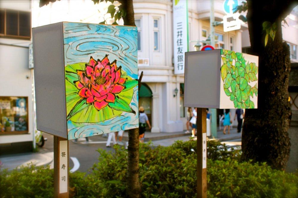 Many precious pieces of artwork on display in beautiful Kamakura