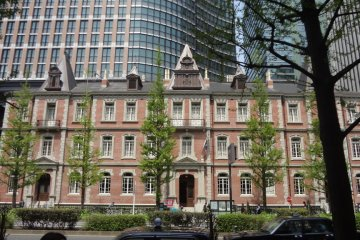 His Mitsubishi Ichi-go-kan was originally built in 1894 in Marunouchi, demolished in 1968 and accurately replicated in 2009.