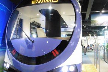 <p>SWIMO, a low-floor battery-powered light rail vehicle&nbsp;</p>