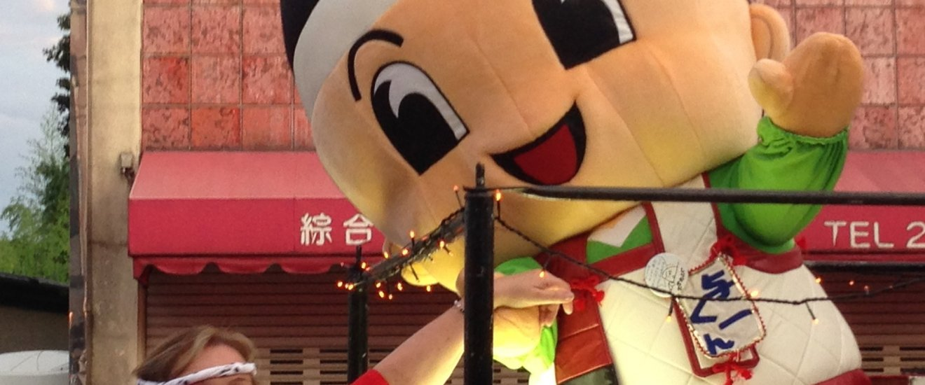 """Meeting 'Yoichi kun"""" during the dancing"""