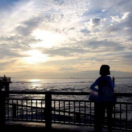 夏の江の島
