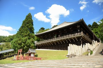 Front view of Nigatsu-do Hall