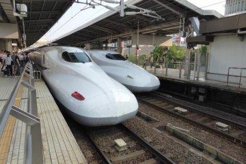 Ma première fois en Shinkansen