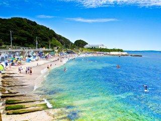 The main stretch of beach near 'Tatara-hama' (たたら浜)