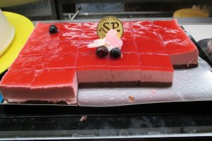A delicious strawberry cake for any strawberry lover