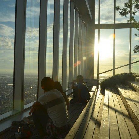 Abeno Harukas Viewing Deck
