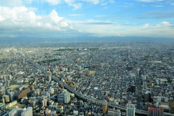 <p>View of Osaka Plain</p>