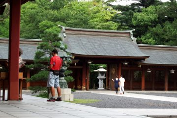 <p>This gate is called &#39;Shinmon&#39; - The God&#39;s Gate</p>