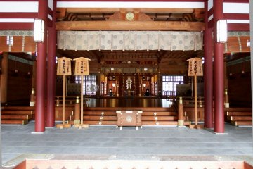 <p>Inside the prayer hall</p>