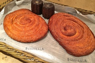 <p>French breads and pastries at Boulangerie Burdigala Hiro-o</p>