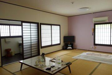 พักโรงแรม Kariboshi ที่ Takachiho