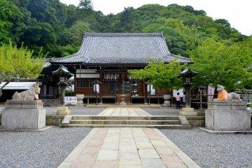 <p>Horinji Temple</p>