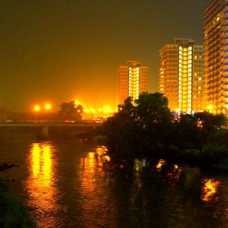 Evening in Morioka