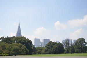 เปรียบเสมือน Central Park กลางกรุงโตเกียว