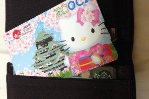 บัตรลายพิเศษ น้อง Kitty อยู่อย่างมีความสุขในกระเป๋าเรา