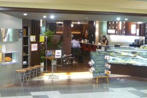 Cafe in Central Park Underground shopping mall, Nagoya.