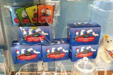 <p>Special Moomin&nbsp;tea</p>