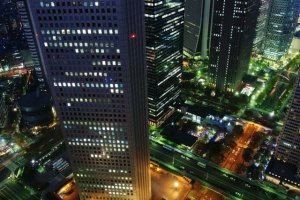 View from the Tokyo Metropolitan Building observatory. Photo by (c)Tomo.Yun