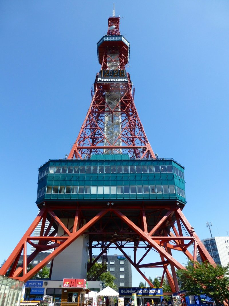<p>The Sapporo TV Tower, founded in 1956 and opened in August 1957</p>