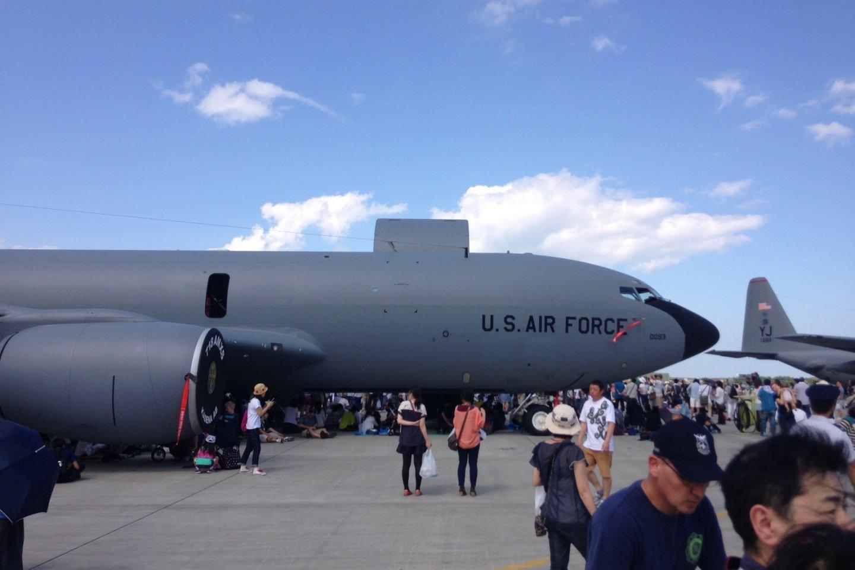 Pesawat jet milik Amerika Serikat yang mana bisa dimasuki