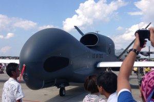 Stealth un-manned jet